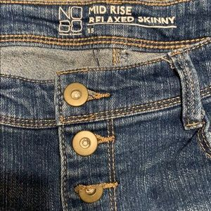 No Boundaries Jeans - No boundaries mid-rise relaxed skinny size 15